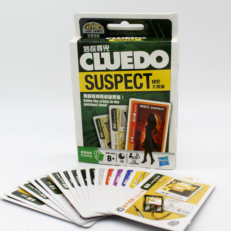 Cluedo Suspect board Game Mental Logical Reasoning Card Game English Instructions With detective party Indoor game