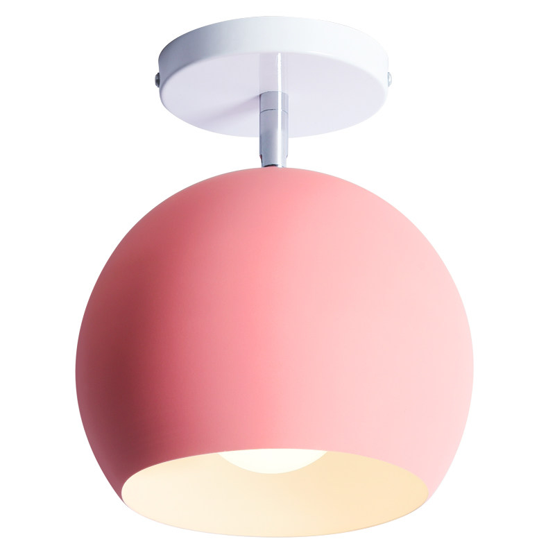 Post modern simple ceiling light colorful macaron style lovely sweet family deco lighting fixture aluminum surface mounted lamp modern simple ceiling light glass colorful macaron style lovely sweet family deco lighting fixture aluminum surface mounted lamp