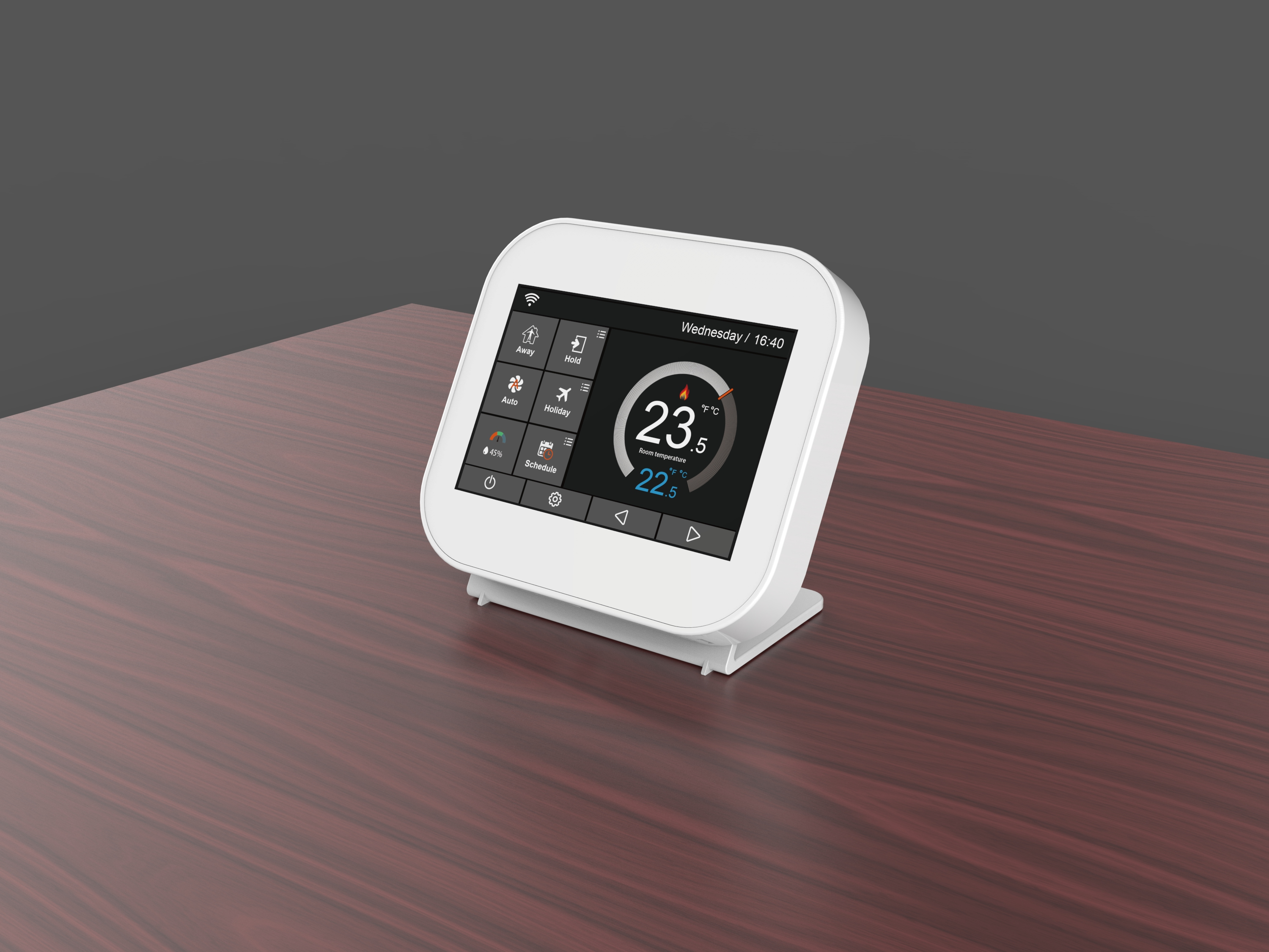 Smart Control Wireless Gas Boiler Room Thermostat