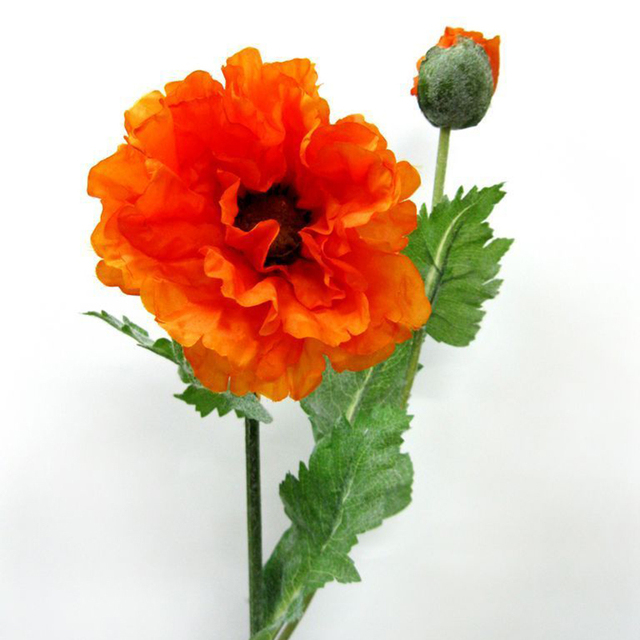 High quality artificial flower plastic artificial poppy flower high quality artificial flower plastic artificial poppy flower artificial silk flower home decoration of poppies party mightylinksfo