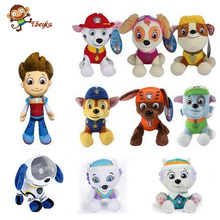 Canine Patrol Dog Toys Russian Anime Doll Action Figures Car Patrol Puppy Toy Patrulla Canina Juguetes Gift for Child