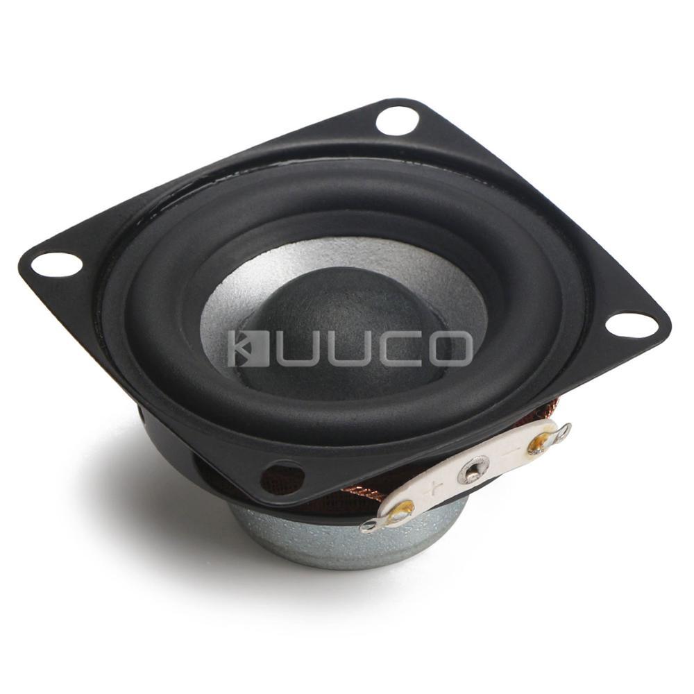 Full-range HiFi Speakers 2 Inches 8 ohms Speaker 12W  88dB (Square Shape) Audio Speaker for multimedia speakers/Car amplifier