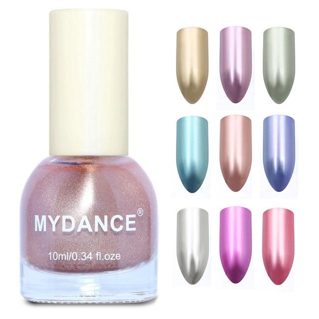 Mydance 10 ml Esmaltes de uñas espejo efecto barniz profesional Uñas ...