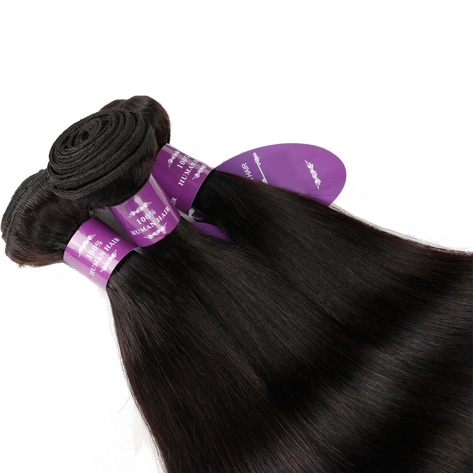 1 Bundle Hair Products Peruvian Straight Hair Weave ...