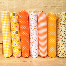 Hoomall 7PCs/set 25x25cm DIY Patchwork Handmade Fabrics For Sewing Cotton Fabric Quilting Fabric For Needlework Felt