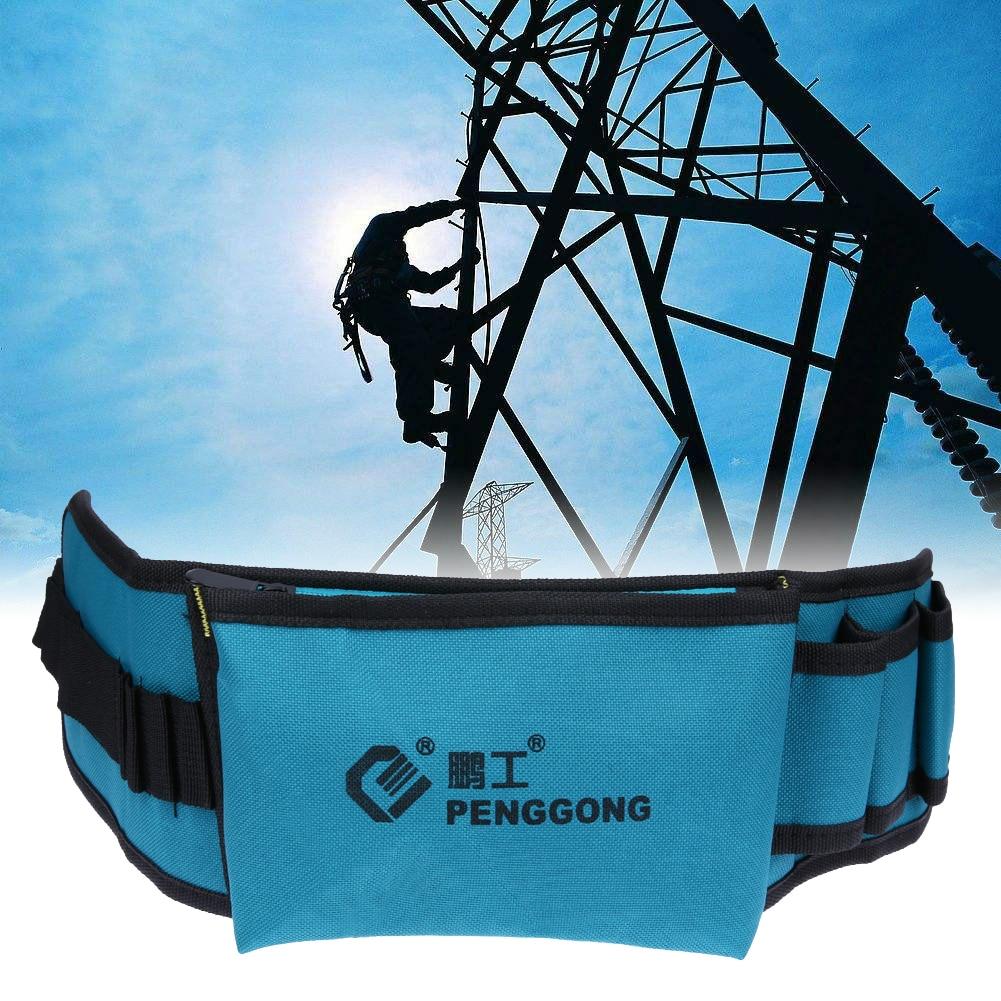 Multifunctional Waist Belt Tool Bag Electrician Waterproof Oxford Tools Kit Pockets Storage Bag Herramientas Para Electricistas
