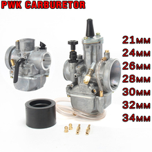 Universal Motorcycle 21 24 26 28 30 32 34mm Carburetor PWK Carburador With Power Jet For Dirt bike Motorcycle Scooter UTV ATV alconstar keihin koso oko motorcycle carburetor carburador 28 30 32 34mm with power jet for atv off road dirt pit bike racing