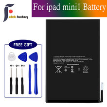 club factory Replacement Battery for iPad Mini 1 A1432, A1454, A1455, Complete Repair Tools Kit, New 0 Cycle 4440mAh все цены
