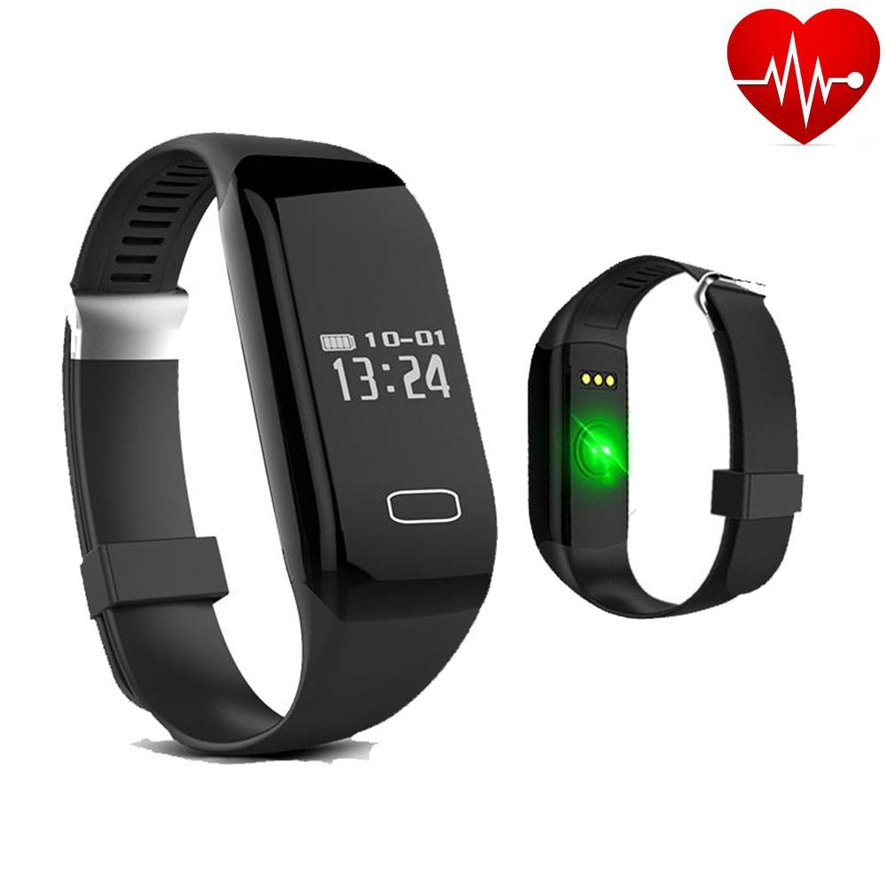 Heart Rate Monitor font b Smart b font Band Sport Bracelet Fitness Tracker Bluetooth 4 0