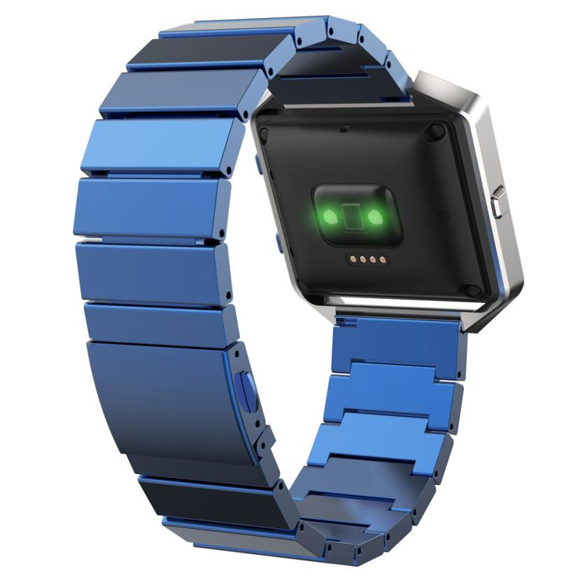 Superior Classic Buckle Fashion Stailess Steel Bracelet Strap Watch Band for Fitbit Blaze July 19* infinity kids 32134510002