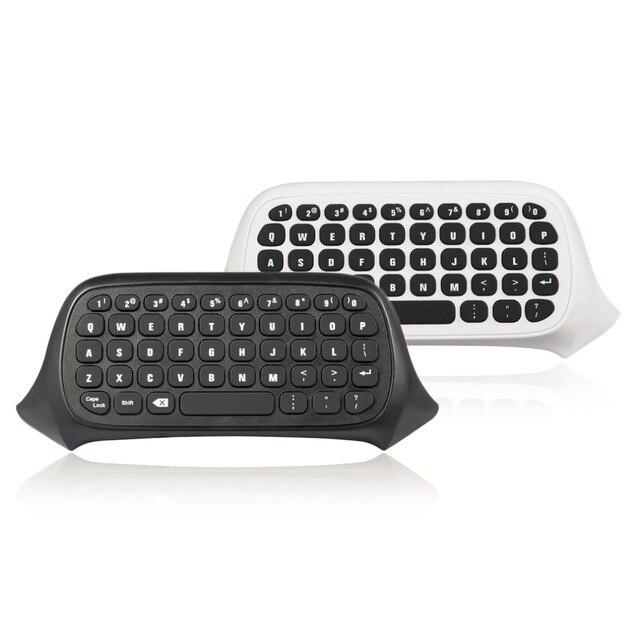 47 Tombol Nirkabel 2.4G Praktis Mini Handheld Keyboard Gaming Pesan Gamepad Keyboard untuk XBOX ONE S Controller