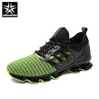URBANFIND Breathable Mesh Shoes Men Sneakers Brand Fashion Trainers Size 39 44 Comfortable Light Male Summer