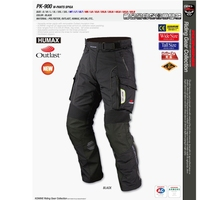Free shipping 1pcs Mens Oxford Windproof Waterproof CE Armoured Motorbike Motorbike Biker Trousers Motorcycle Pants