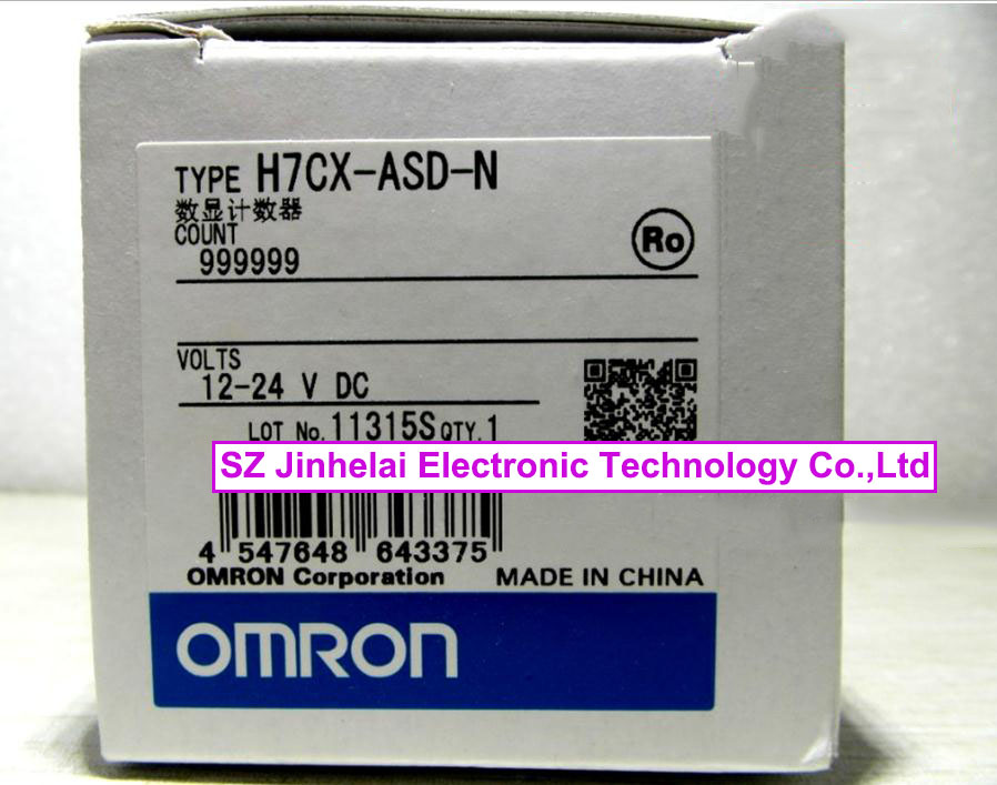 100% New and original H7CX-ASD-N, H7CX-AD-N OMRON  12-24VDC omron h7cx a114s n 100 240v ac