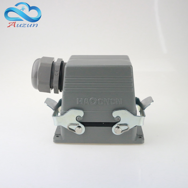 H32B - HSB - 012-1 measure line shuangkou 12 core 35 a 500V large current heavy air connector plug screw feet H32B - HSB - 012-1 measure line shuangkou 12 core 35 a 500V large current heavy air connector plug screw feet
