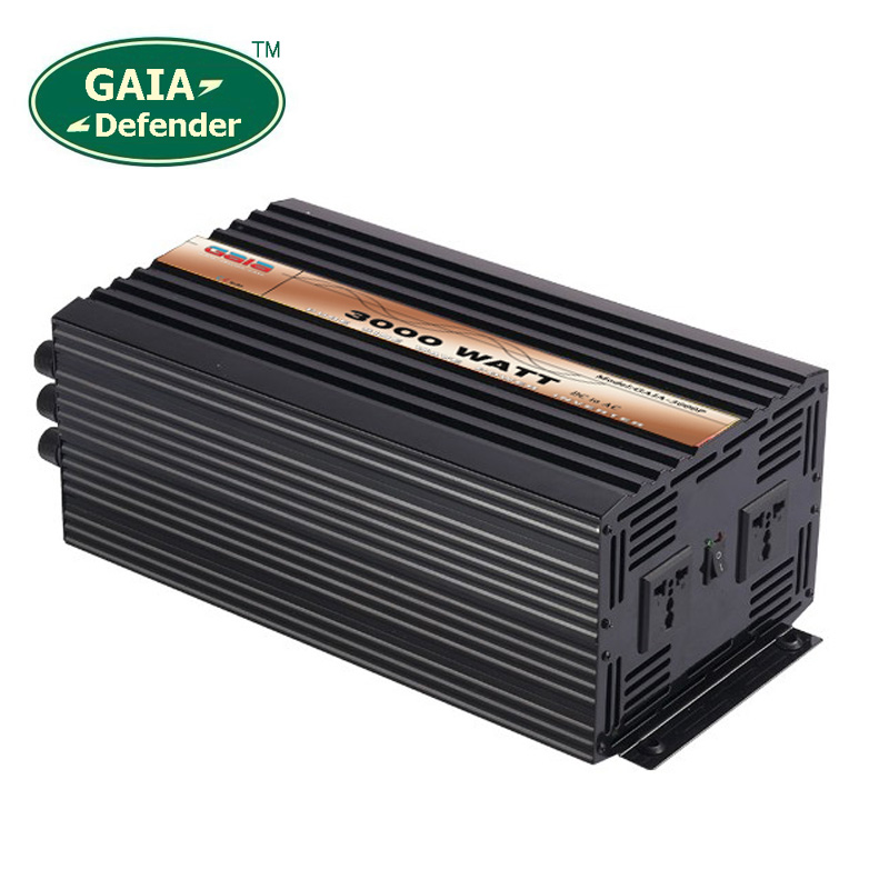 цена на 3000W Pure Sine Wave Power Inverter Peak 6000w off-grid DC12V 24V 48V AC 100V 110V 220V 230V 240V solar wind battery car