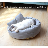 cat-soft-bed-winter-house-cave-for-cat-sleeping-kitten-mats-gray-pet-sleeping-bag-pet-dog-bed-cat-sleeping-bed-with-pillow