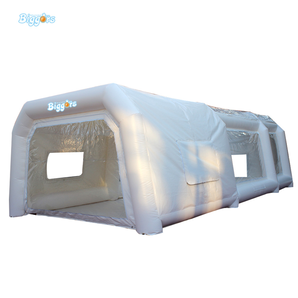 Free Sea Shipping Portable Inflatable Spray Paint Booth With Filters And Blowers commercial sea inflatable blue water slide with pool and arch for kids