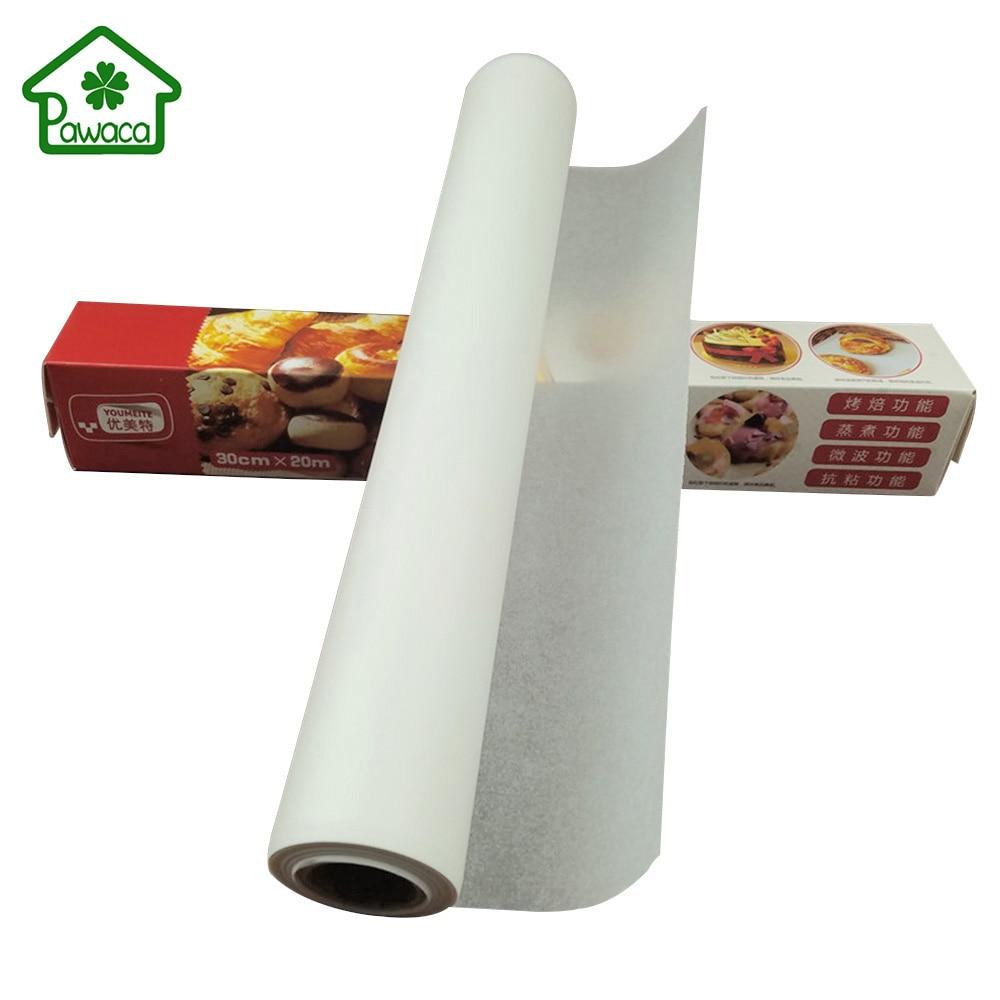 20m Non Stick Parchment Paper Silicone Oven Baking Mat Pad