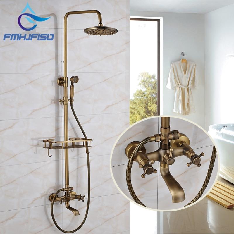 New Design Antique Brass Shower Faucet 8\