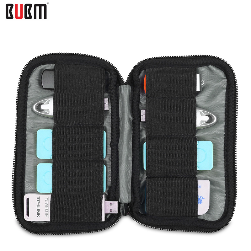 BUBM 소프트 가방 9 개 U 디스크 가방 9 개 U 타입 방패 가방 7 색 네오프렌 소재 소프트 블루 블랙 위장 레드 블루