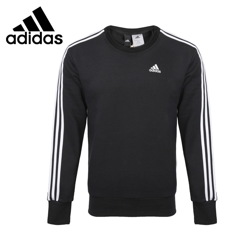 Original New Arrival 2017 Adidas Performance ESS 3S CREW B Men's Pullover Jerseys Sportswear adidas new arrival official ess 3s crew men s jacket breathable pullover sportswear bq9645