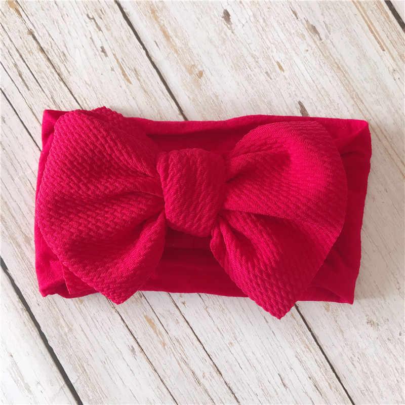 เด็กเด็กผู้หญิง Headbands สำหรับหญิง Bandeau Bebe ผู้หญิง Bows เด็กผ้าโพกศีรษะทารกแรกเกิด Haarband เด็กอุปกรณ์เสริมผม