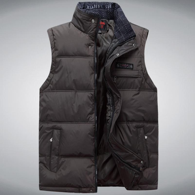 New 2018 Brand Men's Vest Jacket Coat Sleeveless Vests Homme ...