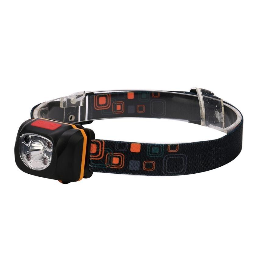 world wind #4001 USB Rechargeable Strong Light LED Waterproof Sensor Headlights