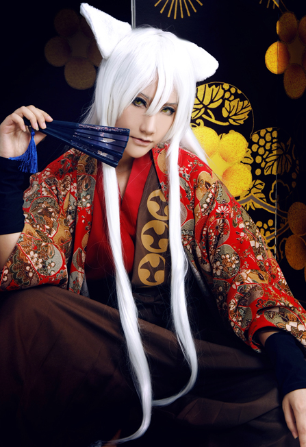 Custom Made Anime Kiss Kamisama Hajimemashita Love Tomoe Gorgeous Kimono Cosplay Printing Costume