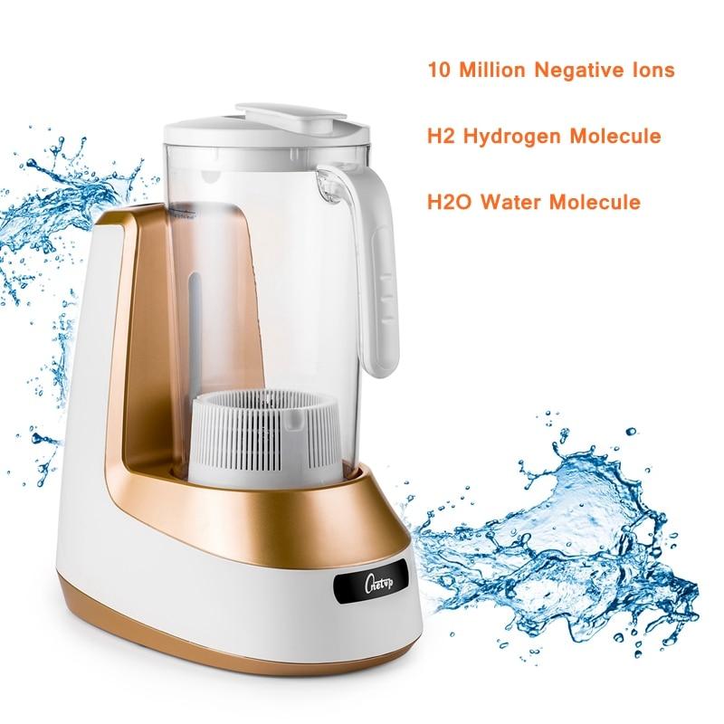 2L Rich Hydrogen Water Generator Health Water Bottle 220V Alkaline Water Generator PP Material Hydrogen Water Machine Hydrogen цена
