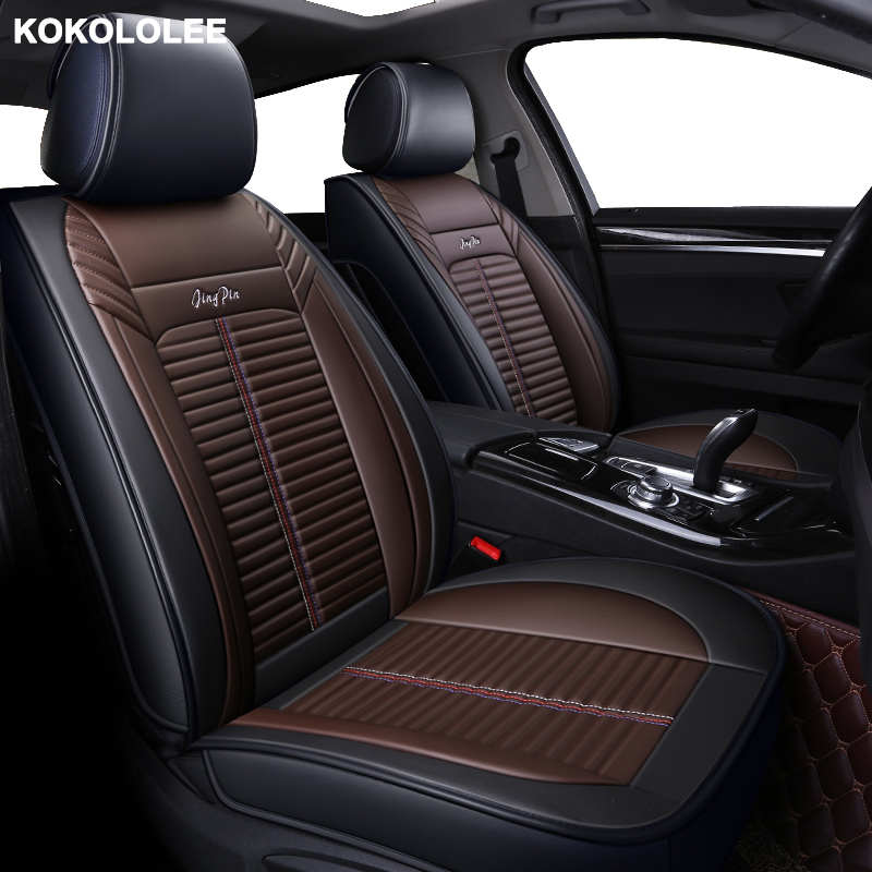 KOKOLOLEE pu leather car seat cover for <font><b>mercedes</b></font> benz <font><b>B200</b></font> W245 <font><b>W246</b></font> C180 W203 T203 W204 w205 W206 Automobiles Seat Covers image