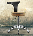 New Explosion-proof Rotating Liftable Bar Chairs Barber Makeup Chairs With a Backrest