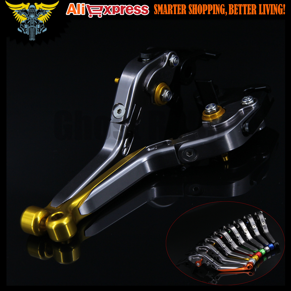 Gold CNC Motorcycle Brake Clutch Levers For Yamaha FJR 1300 2004 2005 2006 2007 2008 2009 2010 2011 2012 2013 2014 2015 2016 motorcycle fender eliminator tidy tail for yamaha yzf r1 yzf r1 yzfr1 2004 2005 2006 2007 2008 2009 2010 2011 2012 chrome