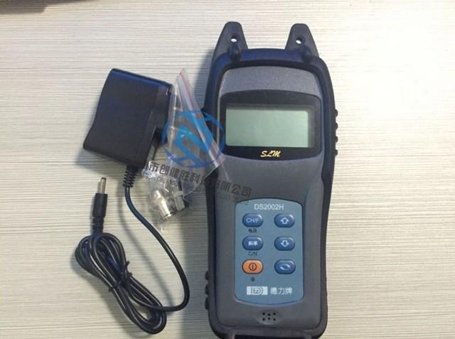 DS2002H força do sinal de TV handheld medidor de intensidade de campo instrumento genuíno