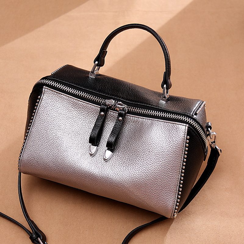 Ladies' genuine leather handbag woman small bags women messenger bags tide women bag over shoulder clutch female purse bolsa sac