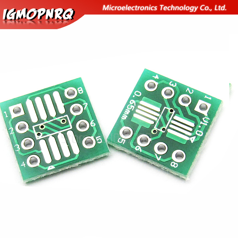 5PCS TSOP48 to DIP48 0.5mm pitch Interposer board pcb Board Adapter Plate
