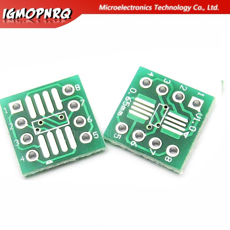 20PCS SOP16 SSOP16 TSSOP16 To DIP16 0.65//1.27mm IC Adapter PCB Board