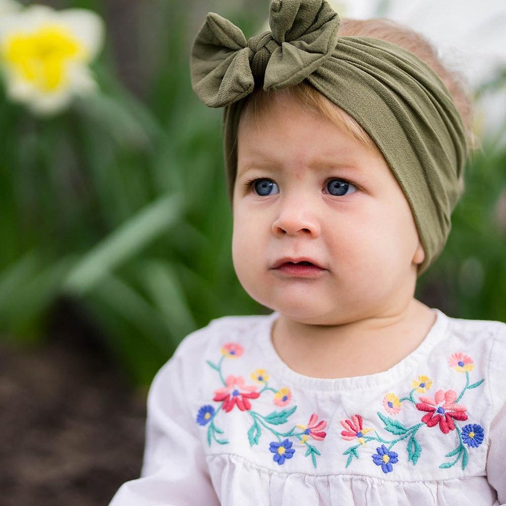 WHTLY 2018 wiosna i lato Moda nowa opaska do włosów dla dzieci baby - Odzież dla niemowląt - Zdjęcie 4