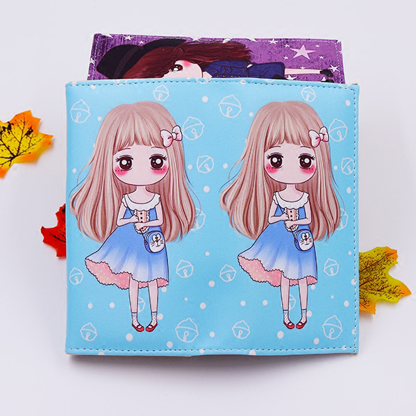 Brand Women Wallets Cards ID Holder Soft PU Leather Cute Girls Cartoon Character Lady Handbags Coin Purse Female Wallet Bag цены онлайн