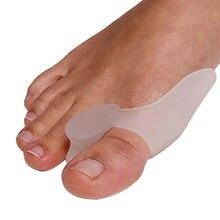 1 пара = 2 шт. гелевый силиконовый корректор буйона разделители большого пальца ноги выпрямитель для ухода за ногами инструмент вальгусной деформации Профессиональный массажер