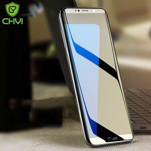 Image 3 - CHYI 3D kavisli Film Samsung A50 a30 Galaxy S10 5G S10 + S10E S8 S8 + S9 S9 + Not 9 10 artı ekran koruyucu değil temperli cam
