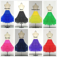 VARBOO ELSA 14 Colors Short Petticoats For Wedding Dress Bridal Tulle Petticoats For Wedding Dress Short
