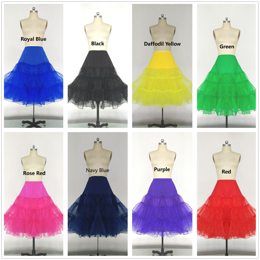 VARBOO ELSA colors short petticoats for wedding dress Bridal Tulle Petticoats For