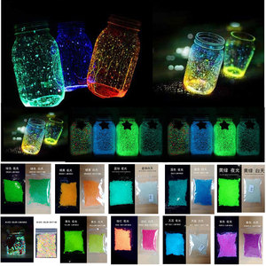 Image 1 - Pixco Photography Props 3Pcs Party Colorful DIY Fluorescent Super luminous Sand  Bright Glow Sand Glowing in the Dark Sand