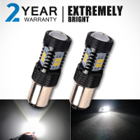 OGA 2PCS 950Lumens Super Bright SMD3030 White 1156 BA15S Car Auto LED Lamp Bulb