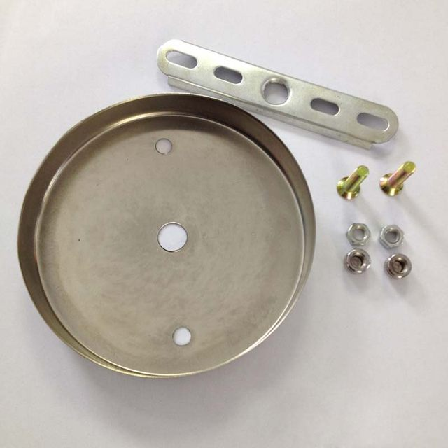 Online shop d100mm satin nickel ceiling plate ceiling canopy for diy d100mm satin nickel ceiling plate ceiling canopy for diy pendant light wall sconce chandelier ceiling lamp base accessories aloadofball Image collections