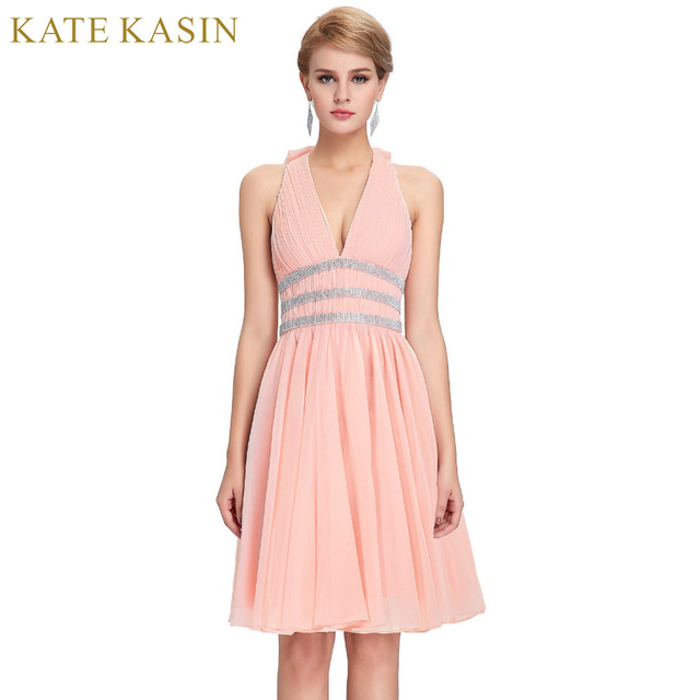 Kate Kasin Short Evening Dresses Robe De Soiree 2018 Formal Dress