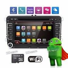 3G Quad Core 2 din Android 6.0 lecteur DVD de Voiture pour VW Volkswagen GOLF 5 Golf 6 POLO PASSAT SKODA CC JETTA TIGUAN TOURAN GPS