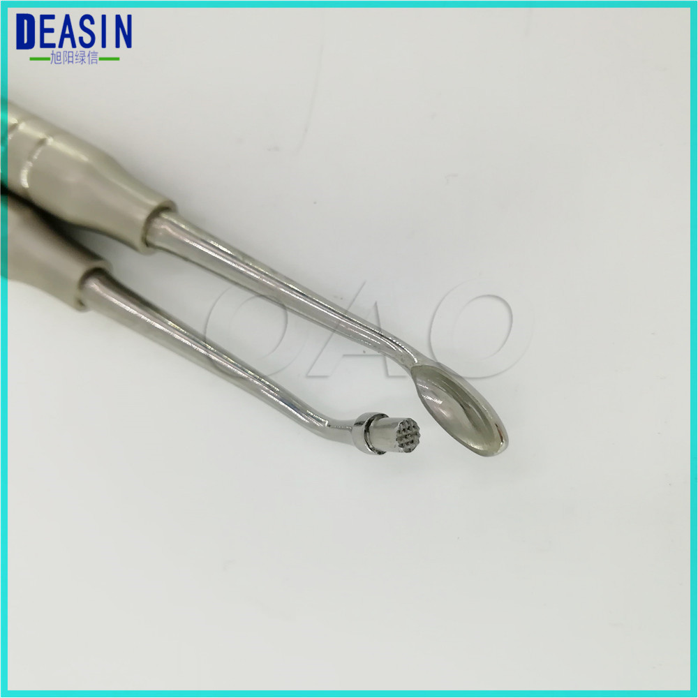 2018 Deasin Dental implant bone powder spoon full import Dental implant tool bone scoop bone powder collector scraper korea dental implant bone expander kit dental implant surgery tools dental implant instruments